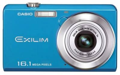 Фотоаппарат Casio Exilim EX-ZS12 Blue EX-ZS12BEECD