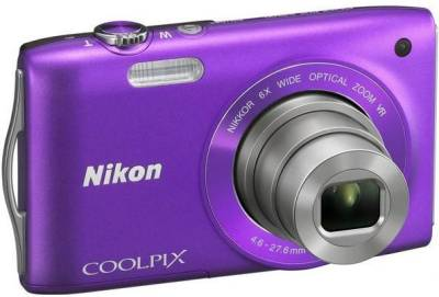 Фотоаппарат Nikon Coolpix S3300 Purple VMA954E1
