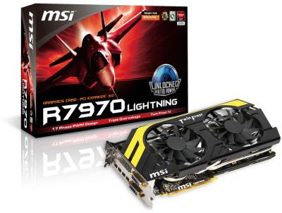 Видеокарта MSI Radeon HD 7970 3072Mb 602-V278-Z02