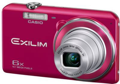 Фотоаппарат Casio Exilim EX-ZS20 Red EX-ZS20RDECF