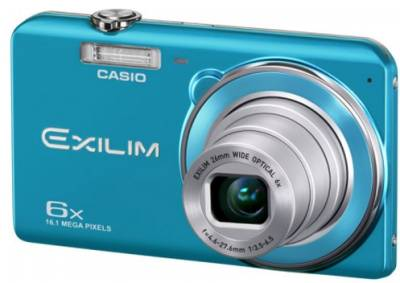 Фотоаппарат Casio Exilim EX-ZS20 Blue EX-ZS20BEECE