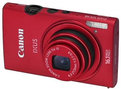 Фотоаппарат Canon IXUS 125 HS Red 6043B008