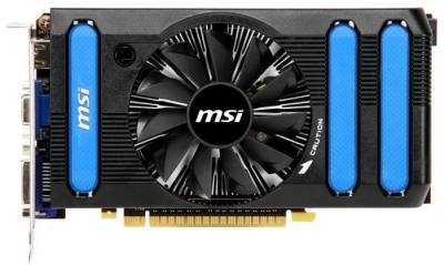 Видеокарта MSI GeForce GTX 550 Ti 1024Mb N550GTX-Ti-MD1GD5