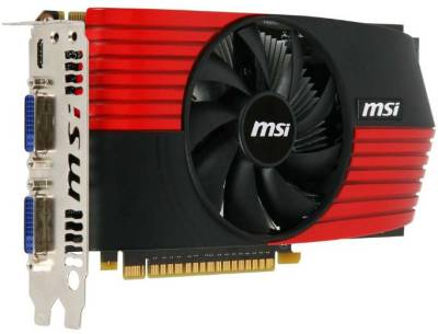 Видеокарта MSI GeForce GTS 450 1024Mb N450GTS-M2D1GD5