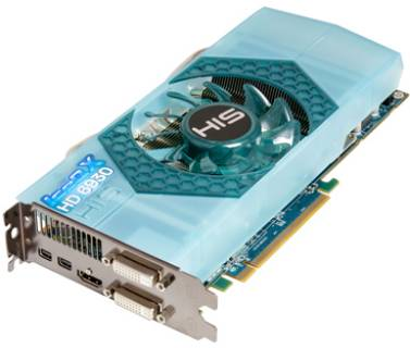 Видеокарта HIS RadeOn HD6930 1024MB H693QN1G2M