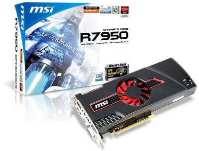Видеокарта MSI Radeon HD 7950 3072MB R7950-2PMD3GD5/OC