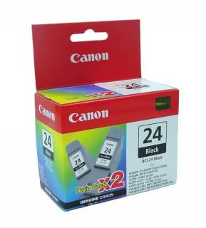 Картридж Canon Ink Cartr BCI-24Bk (twin)