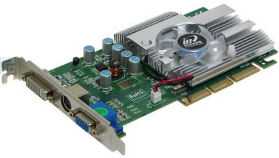 Видеокарта Inno3D GeForce FX5500 256Mb I-5500-G3F3