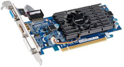 Видеокарта Gigabyte GeForce 210 1024Mb GV-N210D3-1GI
