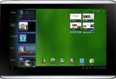 Планшет Acer Iconia Tab A501 16GB 3G Silver XE.H72PN.002