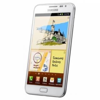 Смартфон Samsung N7000 Galaxy Note Ceramic white GT-N7000RWA