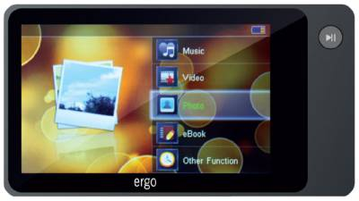 MP3 плеер Ergo Zen Joy 2  2GB Grey