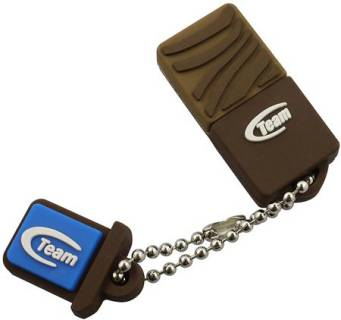 Флеш-память USB Team C118  Brown TG032GC118CX