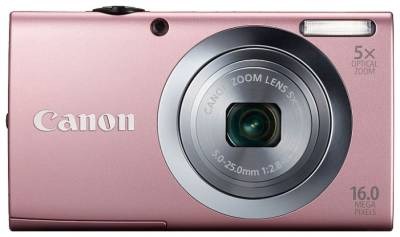 Фотоаппарат Canon POWERSHOT  A2400 IS Pink