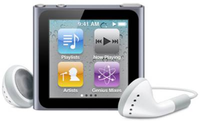 MP3 плеер Apple Nano 8GB Silver MC525