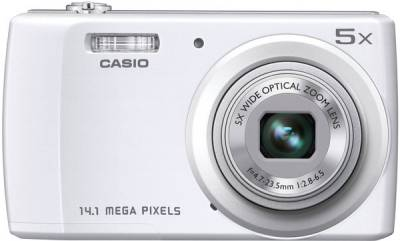 Фотоаппарат Casio Exilim QV-R200 White QV-R200WEECD