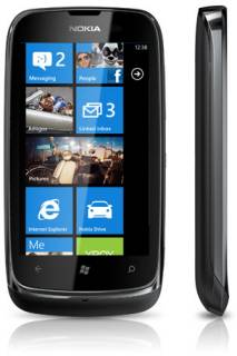 Смартфон Nokia Lumia 610 Black A00005548