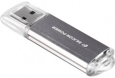 Флеш-память USB Silicon Power UltimaII I-series 64 GB Silver SP064GBUF2M01V1S