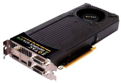 Видеокарта ZOTAC GeForce GTX670 2GB ZT-60301-10P
