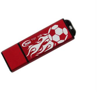 Флеш-память USB Team T121 4GB  Red TG004GT121RX