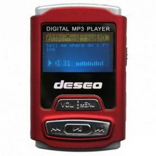 MP3 плеер TakeMS DESEO 1Gb  red
