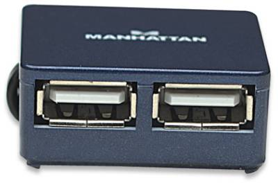 Разветвитель Manhattan Hi-Speed USB 2.0 Micro Hub 160605