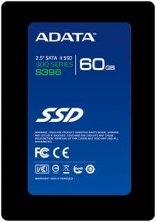 Внутренний HDD/SSD A-Data S396  60GB AS396S-60GM-C