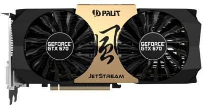 Видеокарта Palit GeForce GTX670 2GB NE5X670H1042