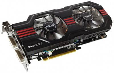 Видеокарта ASUS GeForce ENGTX560 TI 1024 Mb NGTX560 TI DCII TOP/2DI/1GD5_K