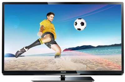 Телевизор Philips 42PFL4007H/12 Black