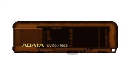 Флеш-память USB A-Data UV110 Brown Slim 16Gb AUV110-16G-RBR
