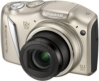 Фотоаппарат Canon Powershot SX130 IS  Silver