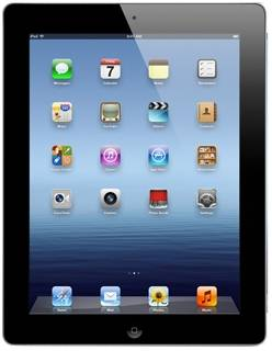 Планшет Apple iPad 3 64Gb WiFi Black