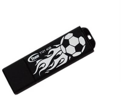 Флеш-память USB Team T121 4Gb Black TC11832GN01