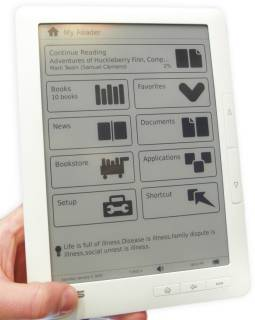 Электронная книга ASUS Eee Reader DR900 white