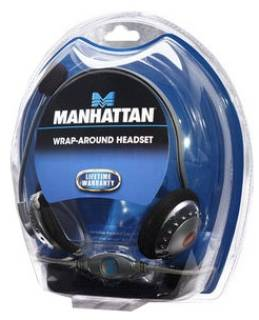 Наушники Manhattan Behind-The-Neck Stereo 175524