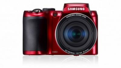 Фотоаппарат Samsung WB100 Red