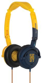 Наушники SkullCandy Lowrider Yellow/Navy S5LWDY-143