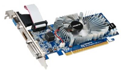 Видеокарта Gigabyte GeForce GT620 1GB GV-N620D3-1GL