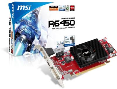 Видеокарта MSI Radeon HD 6450 2Gb R6450-MD2GD3/LP_V2
