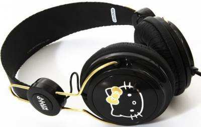 Наушники COLOUD Hello Kitty Black 4090074