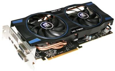 Видеокарта PowerColor Radeon HD 7950 3072Mb AX7950 3GBD5-2DHV2
