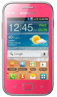 Смартфон Samsung S6802 Galaxy Ace Duos Pink GT-S6802ZIA