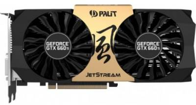 Видеокарта Palit GeForce GTX660Ti 2048Mb NE5X66TH1049-1043J