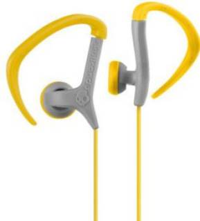 Наушники SkullCandy Chops Bud Grey/Yellow S4CHDZ-125