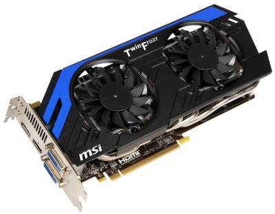 Видеокарта MSI GeForce GTX 670 2Gb N670 PE 2GD5/OC