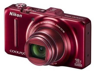 Фотоаппарат Nikon Coolpix S9300 Red VMA922E1