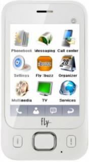 Смартфон Fly E141 TV Dual Sim White
