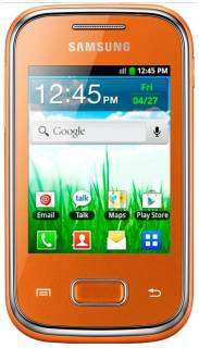 Смартфон Samsung S5300 Galaxy Pocket Orange GT-S5300ZOA