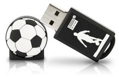 Флеш-память USB Goodram Goal 8Gb  Black/White PD8GH2GRFBR9+U